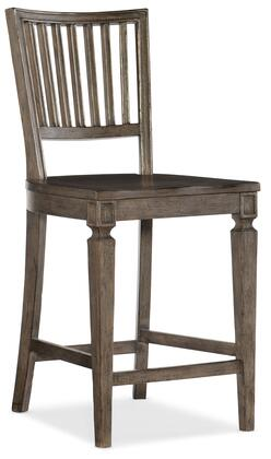 Hooker Furniture Woodlands 58207535084 Bar Stool, Silo Image