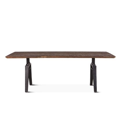 Dakota Collection ZWCRDT84BSTF Dining Table in Brown