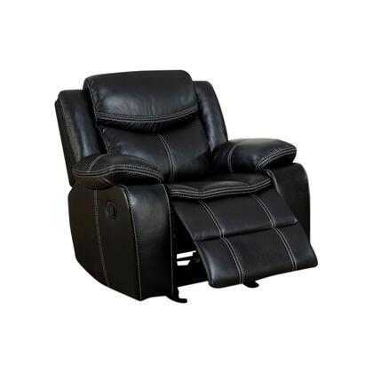 Benzara Gatria BM141610 Accent Chair Black, BM141610