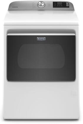 Maytag Mgd6230rhw 27 Inch Gas Dryer With 7 4 Cu Ft Capacity Appliances Connection