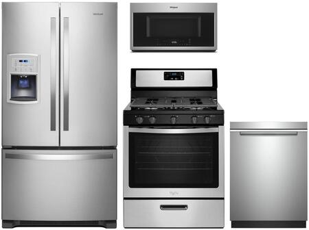 Whirlpool 1127428 Kitchen Appliance Package & Bundle Stainless Steel, main image