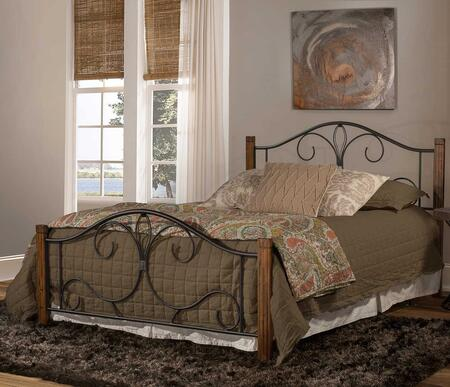 Hillsdale Furniture Destin 2220BKR Bed Brown, Main Image