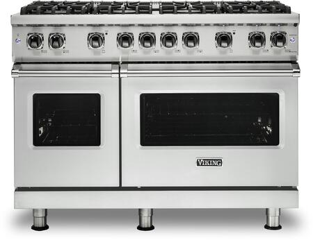 Viking 5 Series VGR5488BFWLP Freestanding Gas Range White, VGR5488BFWLP Gas Range