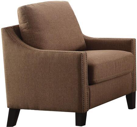 Acme Furniture Zapata Jr. 53767 Living Room Chair Brown, Chair