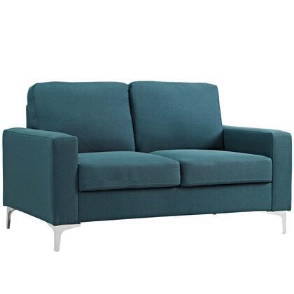 Modway Allure EEI2777BLU Stationary Sofa Blue, 1