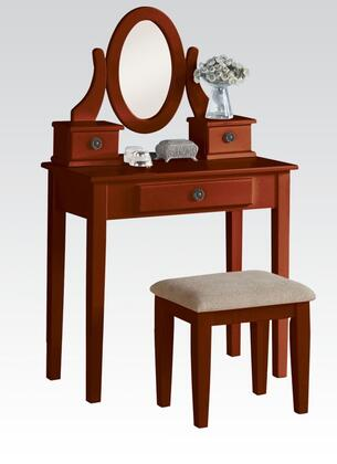 Acme Furniture Jayle 90149 Vanity Brown, Vanity Set