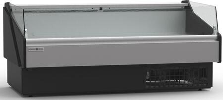Hydra-Kool  KFMOF120S Deli Cases Black, KFMOF120S Open Front Deli Case