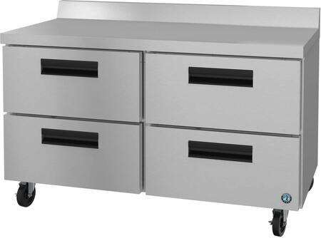 Hoshizaki Steelheart WR48AD Undercounter and Worktop Refrigerator Stainless Steel, 1