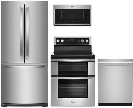 Whirlpool 1127402 Kitchen Appliance Package & Bundle Stainless Steel, main image