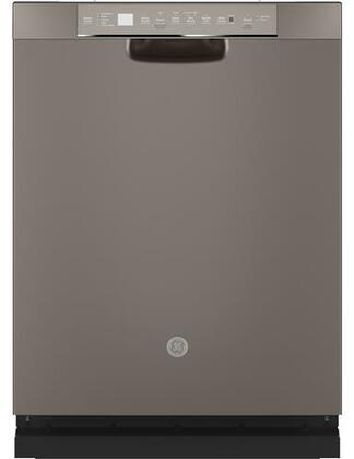 GDF645SMNES 24″ Energy Star Qualified Full Console Dishwasher with 16 Place Settings  Dry Boost with Fan Assist  Bottle Jets  Wash Zones and