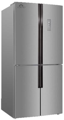FFFFD1950-30S 30″ Stainless Steel 4 Door French Door Refrigerator with 15.3 cu. ft. Total Capacity  LED Lighting  Frost Free Design and Adjustable