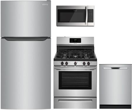 Frigidaire  1308057 Kitchen Appliance Package Stainless Steel, Main image
