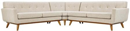 Modway Engage EEI2108BEISET Sectional Sofa Beige, 1