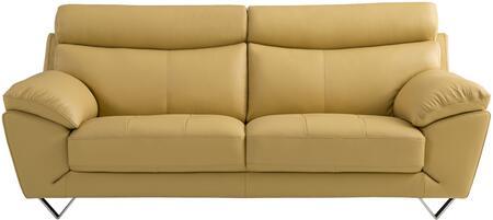 American Eagle Furniture EK078 EK078YOSF Stationary Sofa Yellow, Main Image
