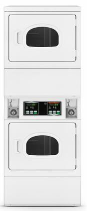 Speed Queen  SSENCFGW173TW01 Commercial Stacked Dryers White, 1