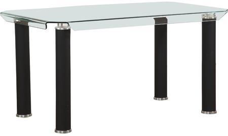 Acme Furniture Gordie 70265 Dining Room Table Black, Dining Table