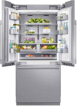 Dacor  DRF365300AP French Door Refrigerator Panel Ready, DRF365300AP Interior