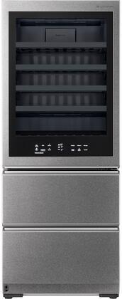 LG Signature  URETC1408N Wine Cooler 51-75 Bottles Stainless Steel, URETC1408N Wine Cellar Counter Depth Refrigerator