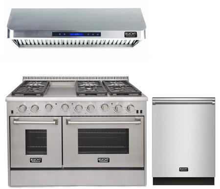 Kucht Professional 840234 Kitchen Appliance Package Stainless Steel, main image