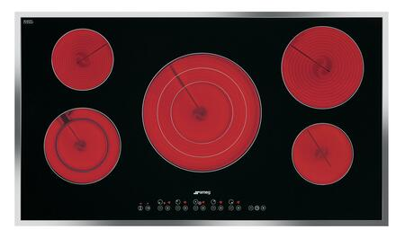 Smeg S2951CXU Electric Cooktop Stainless Steel, Main Image