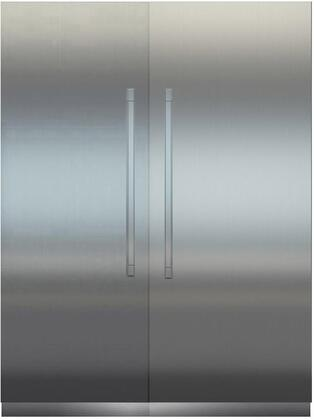 Liebherr Monolith 1134880 Column Refrigerator & Freezer Set Stainless Steel, Main Image