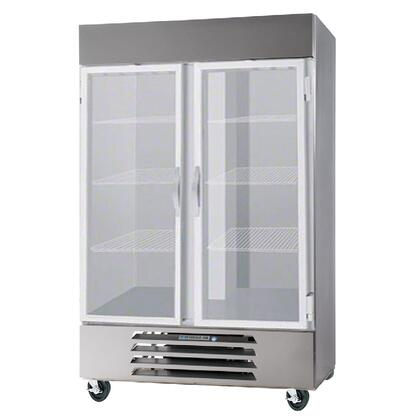 Beverage-Air Vista FB491G Commercial Reach In Freezer Stainless Steel, main image