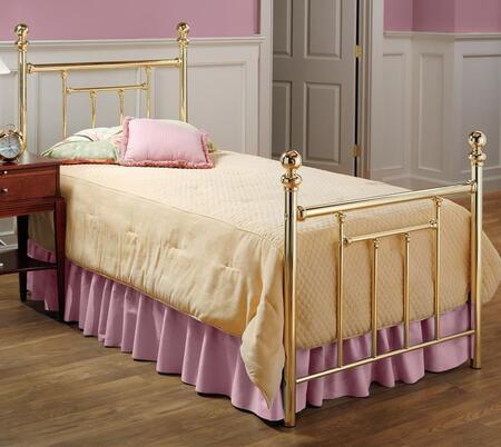 Hillsdale Furniture Chelsea 1035BTWR Bed Gold, 1