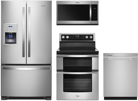 Whirlpool  991689 Kitchen Appliance Package Stainless Steel, Main Image