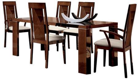 ESF Capri I770 Dining Room Table Brown, CAPRITABLE