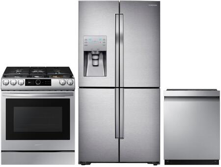 Samsung  1108047 Kitchen Appliance Package Stainless Steel, main image