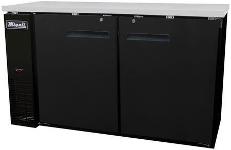 Migali Competitor CBB60HC Bar Refrigerator Black, Main Image