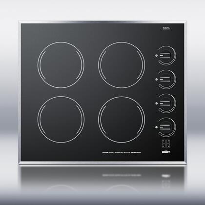 Summit CR424BL Electric Cooktop Black, 1