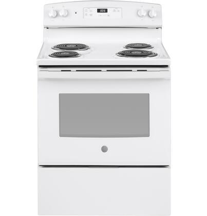 GE JBS360DMWW Freestanding Electric Range White, Main Image