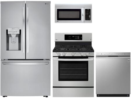 LG 1071479 Kitchen Appliance Package & Bundle Stainless Steel, main image