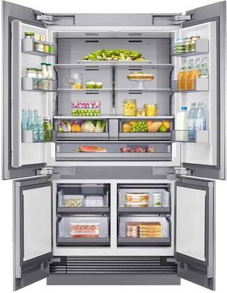 Dacor  DRF425300AP French Door Refrigerator Panel Ready, DRF425300AP Interior