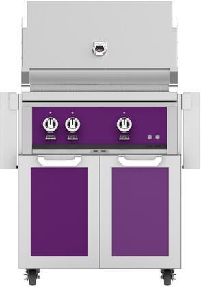 Hestan  852050 Liquid Propane Grill Purple, Main Image