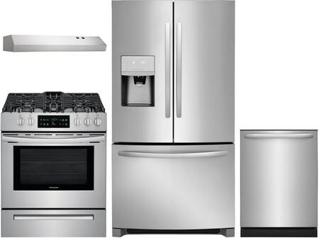 Frigidaire 1052093 Kitchen Appliance Package & Bundle Stainless Steel, main image