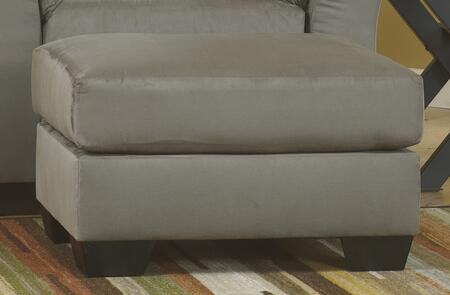 Signature Design by Ashley Darcy 7500514 Living Room Ottoman Gray, Main Image