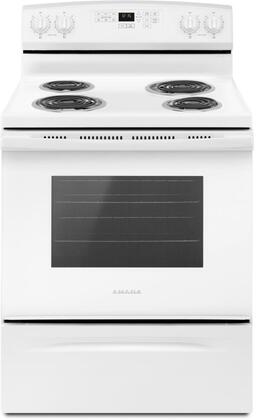 Amana  ACR4503SFW Freestanding Electric Range White, Main Image