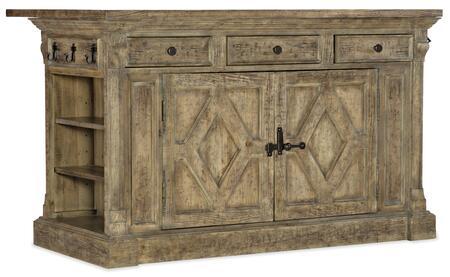 Hooker Furniture La Grange 69607590381 Kitchen Island, Silo Image