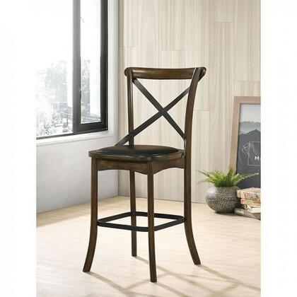 Furniture of America Buhl I CM3148PC2PK Dining Room Chair Brown, cm3148pc 2