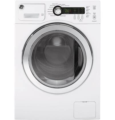 GE  WCVH4800KWW Washer White, Main View