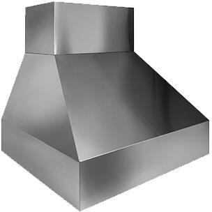 Trade-Wind  P724812 Wall Mount Range Hood Stainless Steel, Main Image