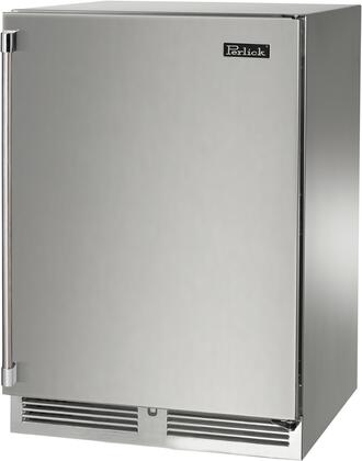 Perlick Signature HP24RS41RL Compact Refrigerator Stainless Steel, Main Image