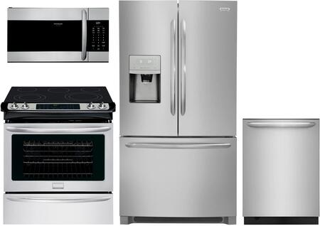Frigidaire  1133863 Kitchen Appliance Package Stainless Steel, main image