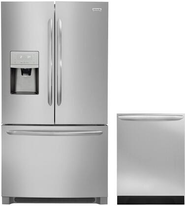 Frigidaire  850571 Kitchen Appliance Package Stainless Steel, 1