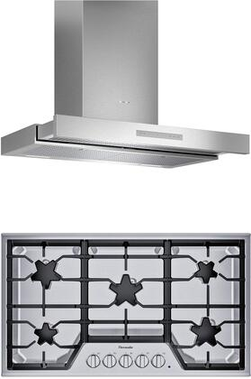 Thermador  1071200 Kitchen Appliance Package Stainless Steel, main image