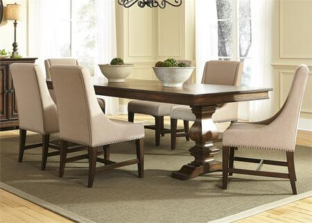 Liberty Furniture Armand 242DR7TRS Dining Room Set Brown, Main Image