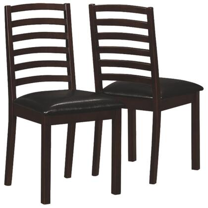 Monarch I1149 Dining Room Chair, 1