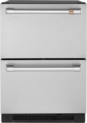 Cafe Customizable Professional Collection CDE06RP2NS1 Drawer Refrigerator Stainless Steel, CDE06RP2NS1 Refrigerator Drawer
